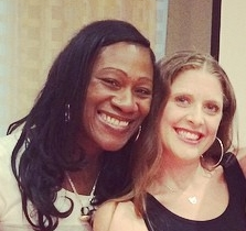 Sharmus and Melissa at the Harm Reduction Conference, Baltimore 2014