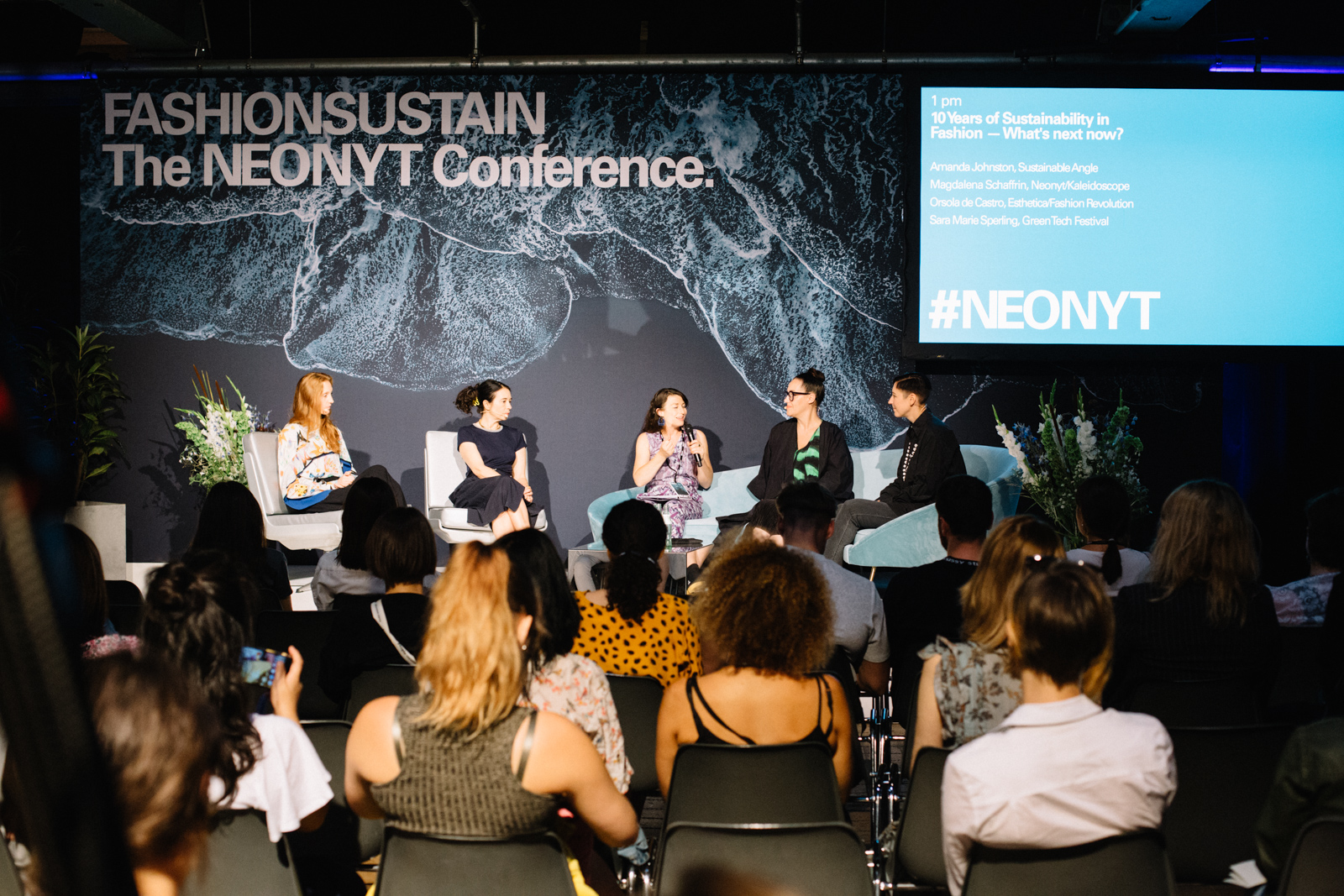 "Panel discussion ""10 Years of Sustainability in Fashion — What's Next Now?"""