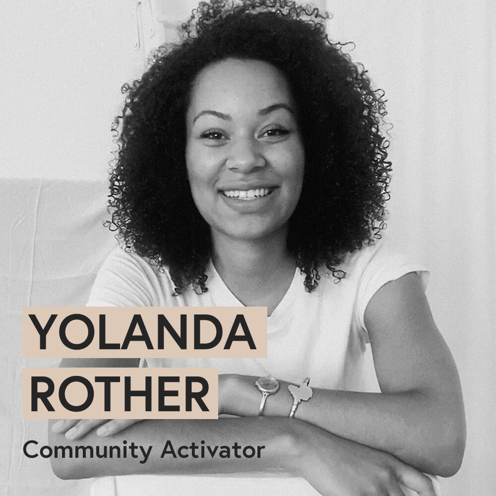 "- YOLANDA ROTHER | COMMUNITY activator作为Creative Matterz Fund团队的社区activator,发起与国际社区和媒体的合作。linkedin.""loading="