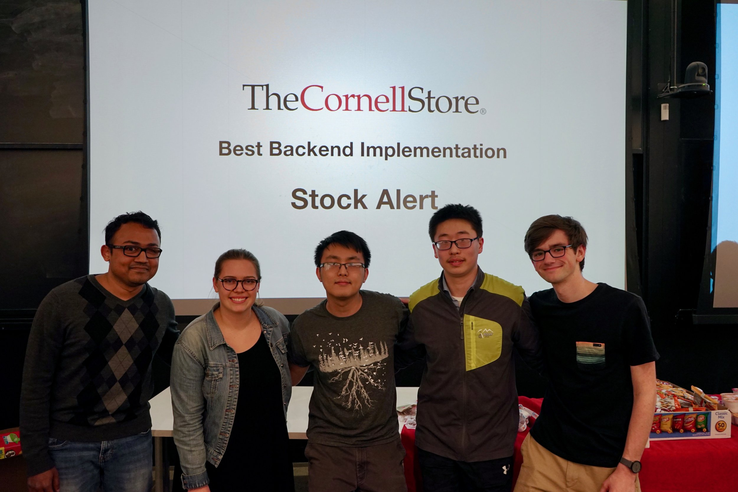 Annamalai Annamalai (iOS), Lily Croskey Englert (iOS), Kevin Chen (Backend), Zhengxun Wu (Backend), Joe Fulgieri (TA)