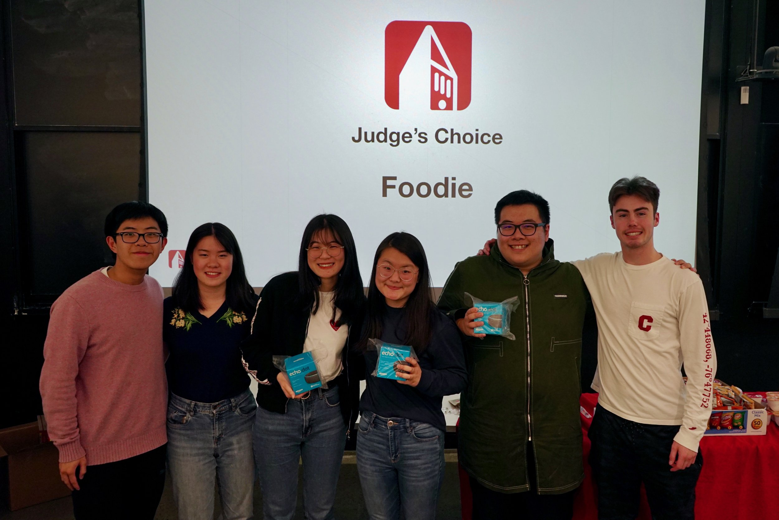 Kevin Chan (TA), Cindy Huang (Design), Yuxuan Chen (iOS), Haiying Weng (iOS), Leo Liang (Backend), Conner Swenberg (TA)