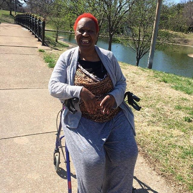 #TBT to a sunny Sunday when one of our PA's took one of our residents out for a much-needed walk in the park.
