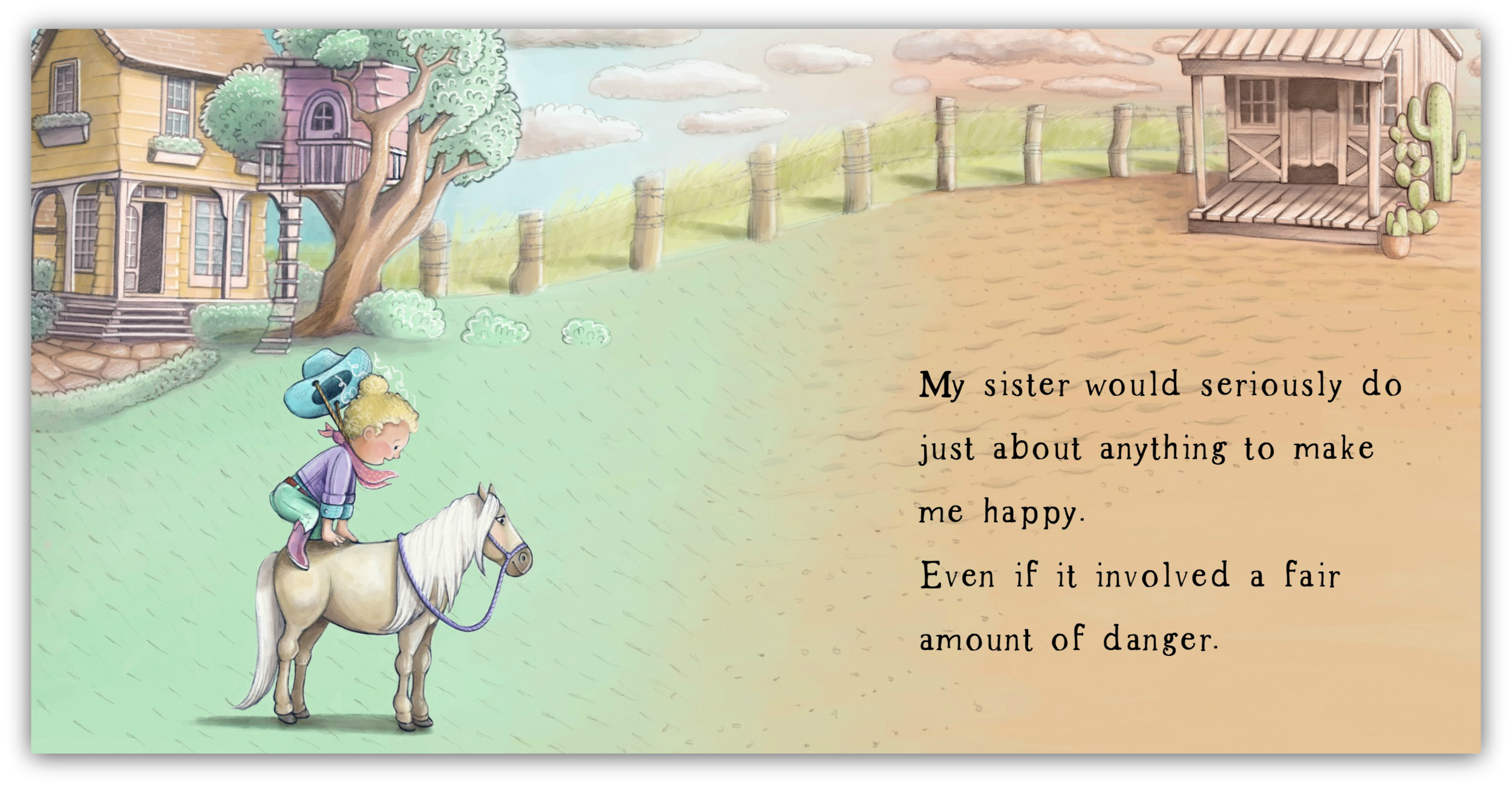 Page 13 & 14 of - My Sister Is My Hero - by Beth Snider