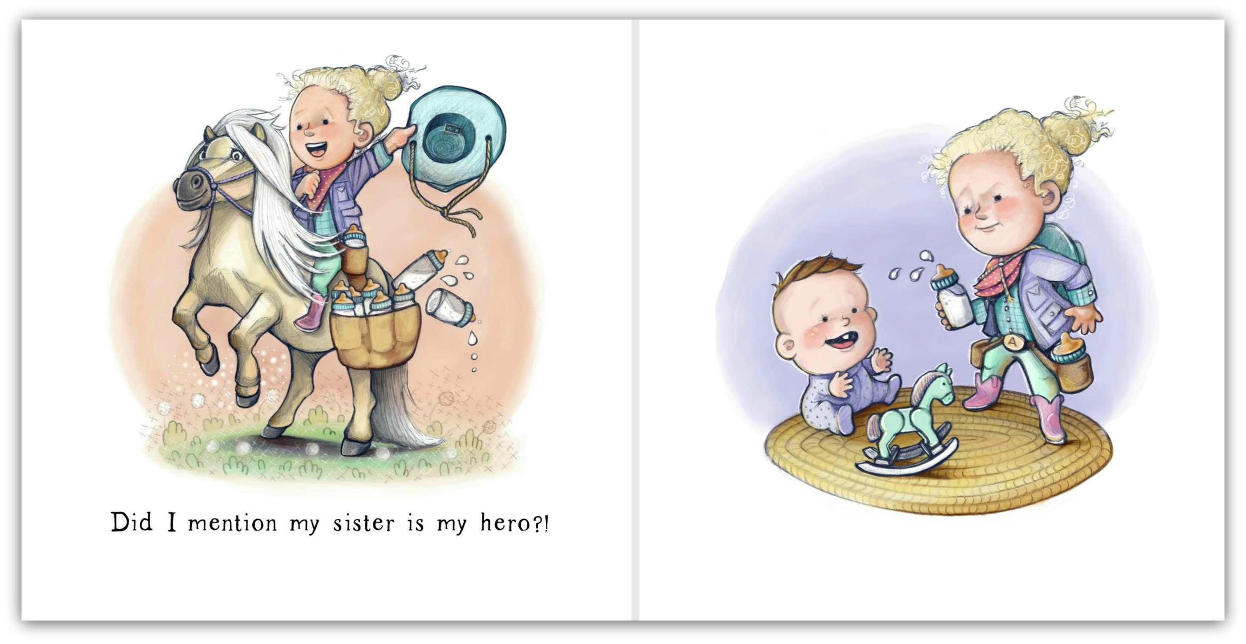 Page 21 & 22 - My Sister Is My Hero - by Beth Snider