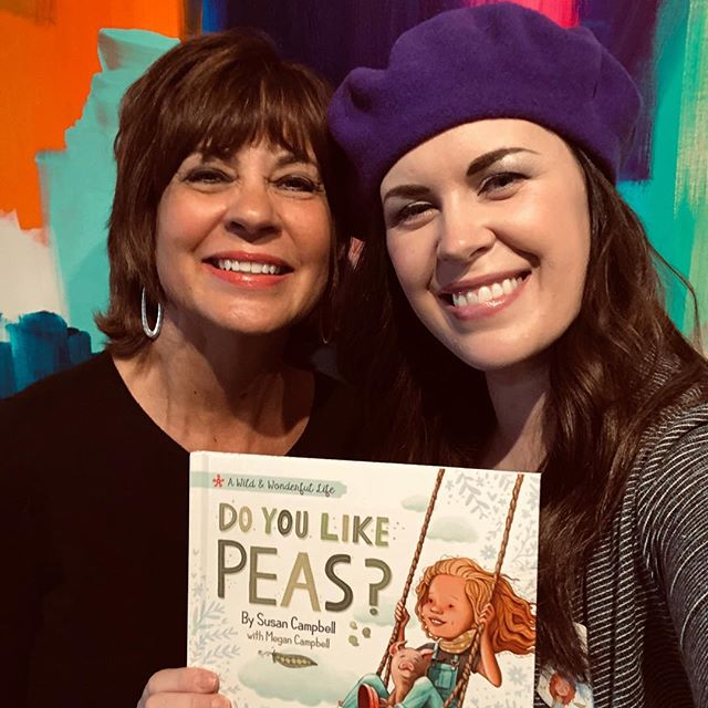 "This weekend was so fun! We had two book launch events to celebrate the release of ""Do You Like Peas?""... so many people came out to show support and love! . . . . #bookstagram #booklaunch #booklaunchparty #indieauthors #childrensbooks #picturebooks #picturebookillustration #picturebookart #kcartist #authors #authorsofinstagram #authorlife #illustratorlife #celebrate @susancampbell"
