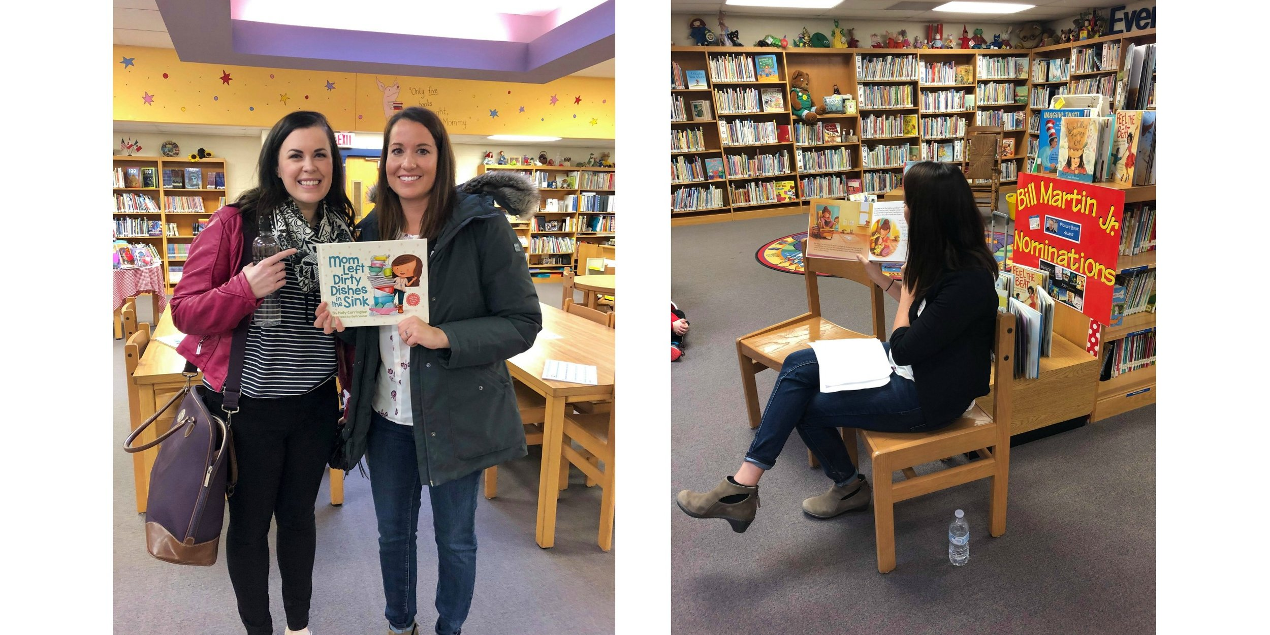 Holly and Beth's presentation is appealing to all elementary age groups! They share about their process in fun ways that inspire kids to read, write and illustrate their own stories.