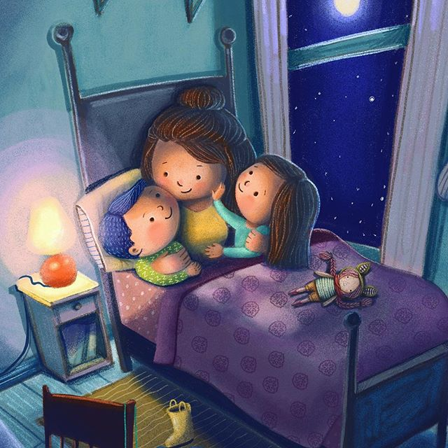 How old do your kids need to be for you to stop tucking them in? Can it please be for as long as they are in your home?! . . . . #childrenswritersguild #childrensbooks #children_illustrations #childrens_illustrations #best_of_illustrations #artistsoninstagram #bethsniderart #bethsnider #kansascity #picturebooks #illustration #illustrator #kidlitart #kidlit #illustrations #illustratorsoninstagram #drawings #nighttimeroutine #bedtimestories #bedtime #mothersday #motherhood #momlife @cozytimestories @childrensbookillustration @childrenbook_art @childrenswritersguild @best_of_illustrations