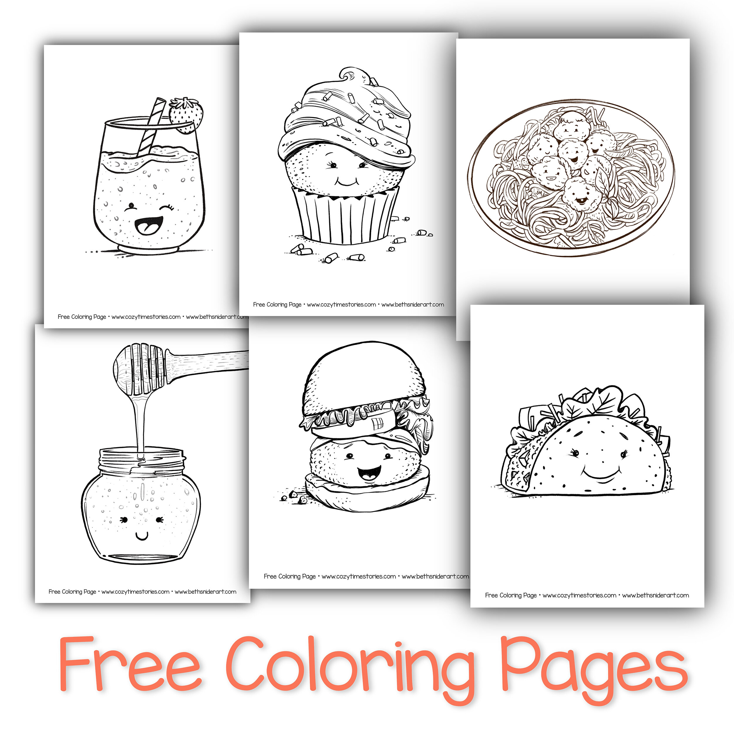 - Free Coloring Pages — Beth Snider