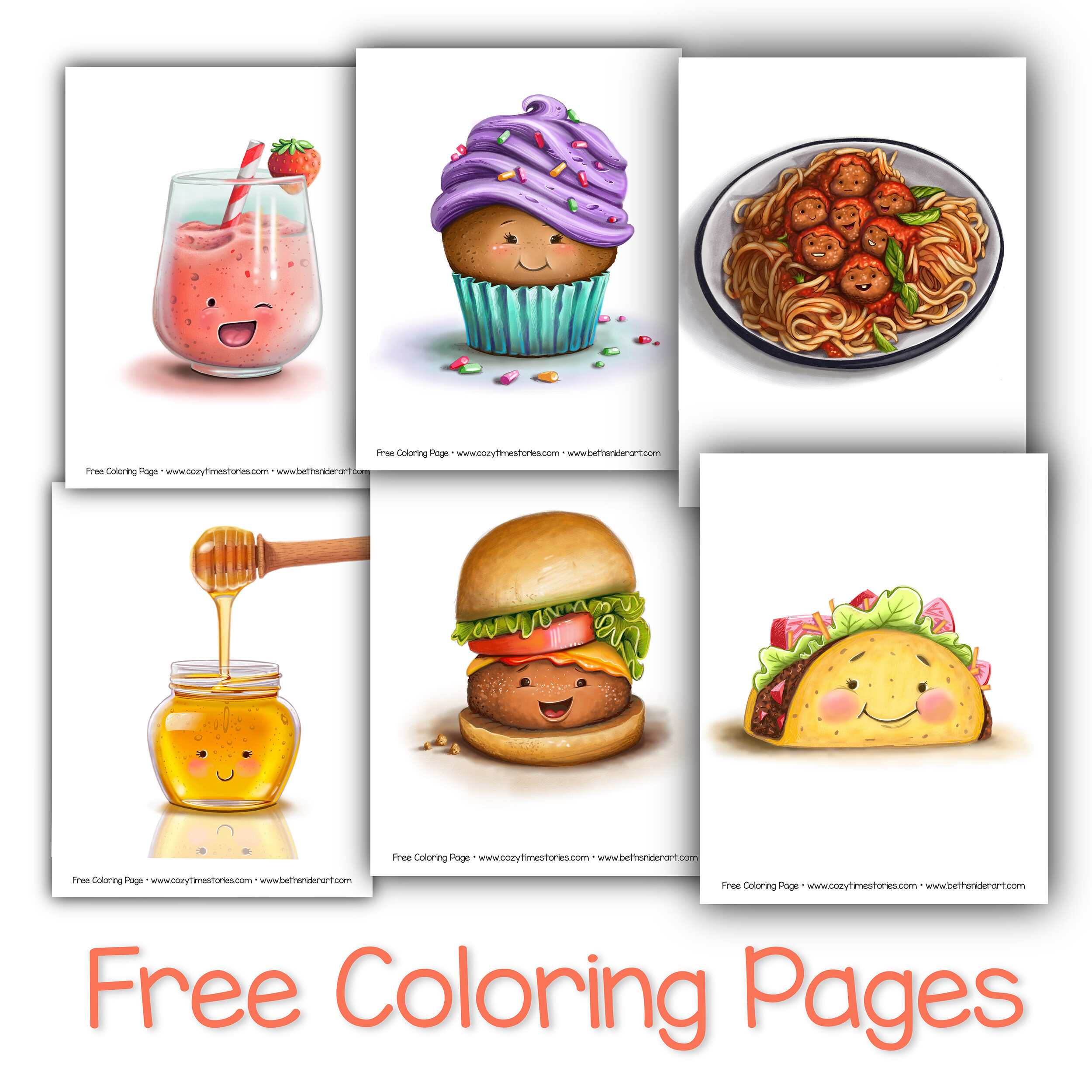 Free Coloring Pages Beth Snider