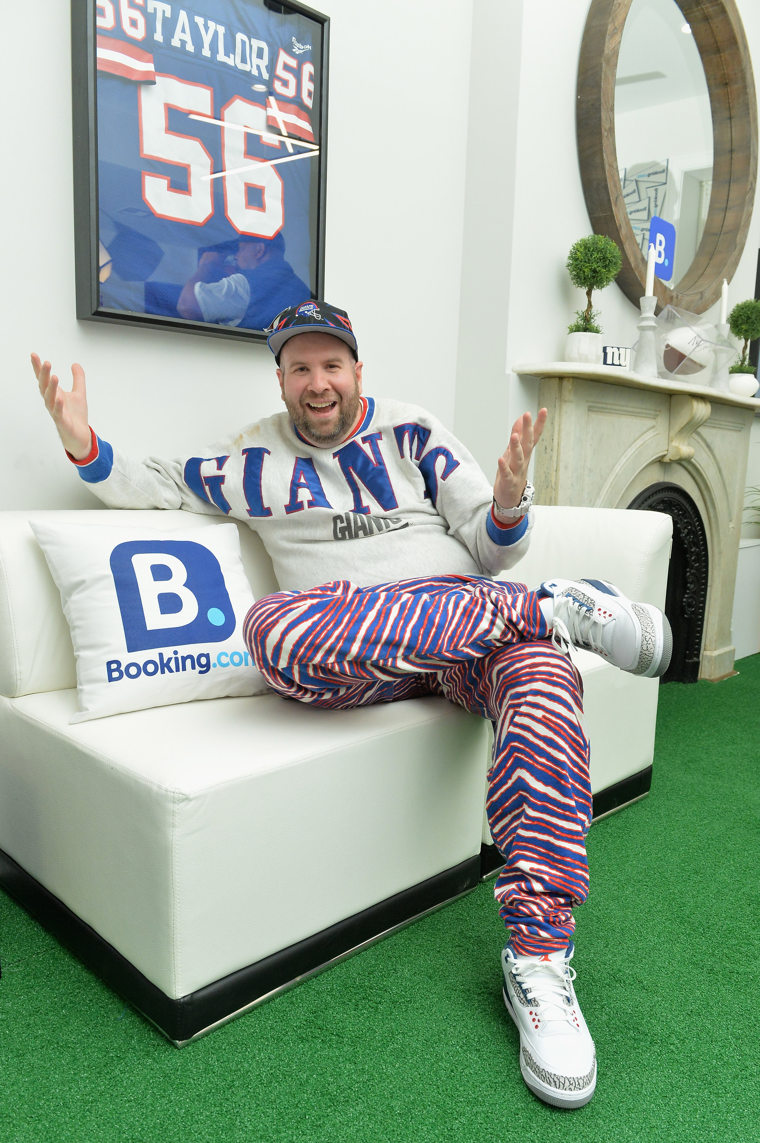 Mr. Throwback at the Booking.com Football House.jpg