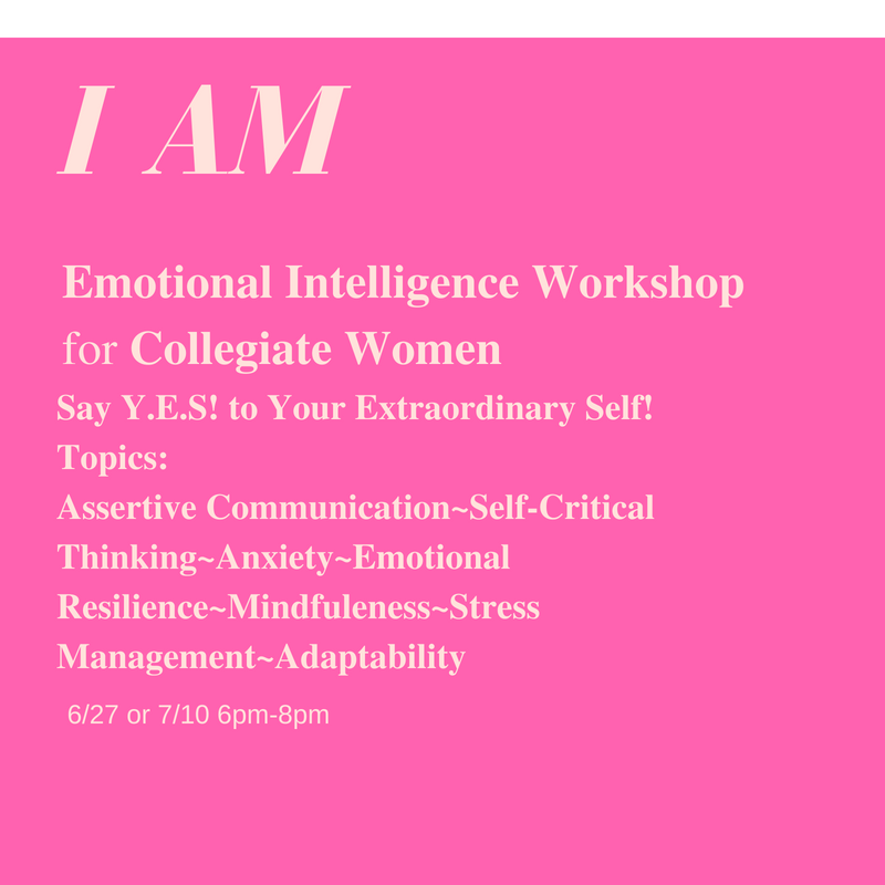 - Say Y.E.S! to Your Extraordinary SelfSay I Am Who I AmDeeply connect to you inner compassOwn your voiceBe confident in your What & WhyBe unequivocal about your No!Be the director of your life and the creatorof your successConfident & Self-assured!