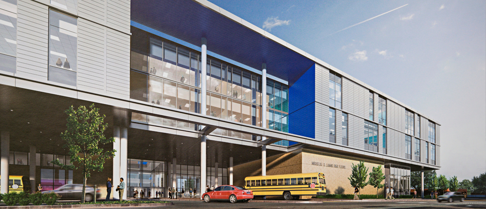 Lamar High School  Zoned to a unique public school offering International Baccalaureate diploma, Vanguard, and Pre-AP/AP classes.