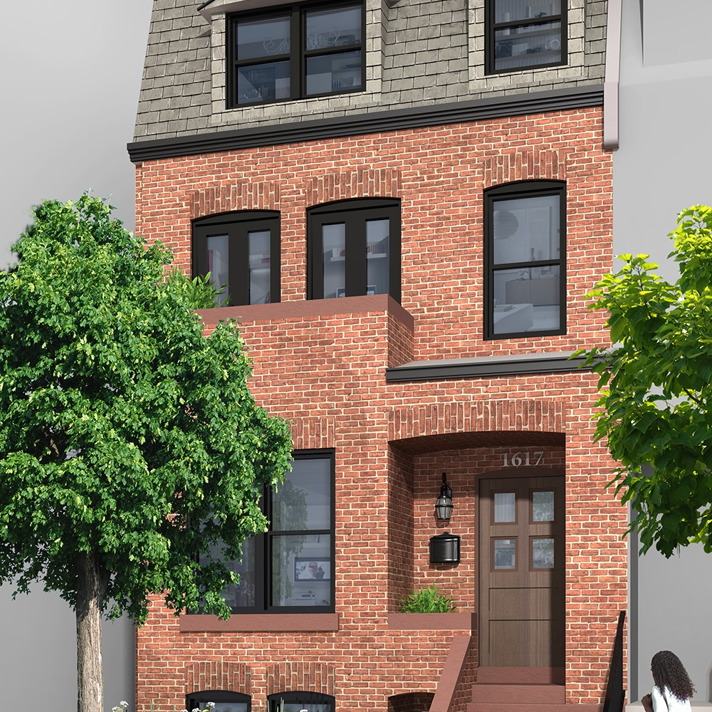 1617 Riggs Place NW - 4 Units - SOLD 2016