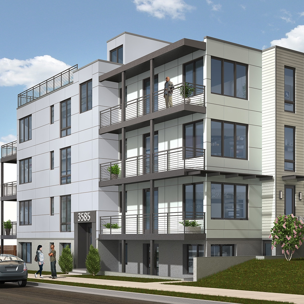 3585 13th Street NW - 4 Units - SOLD 2016