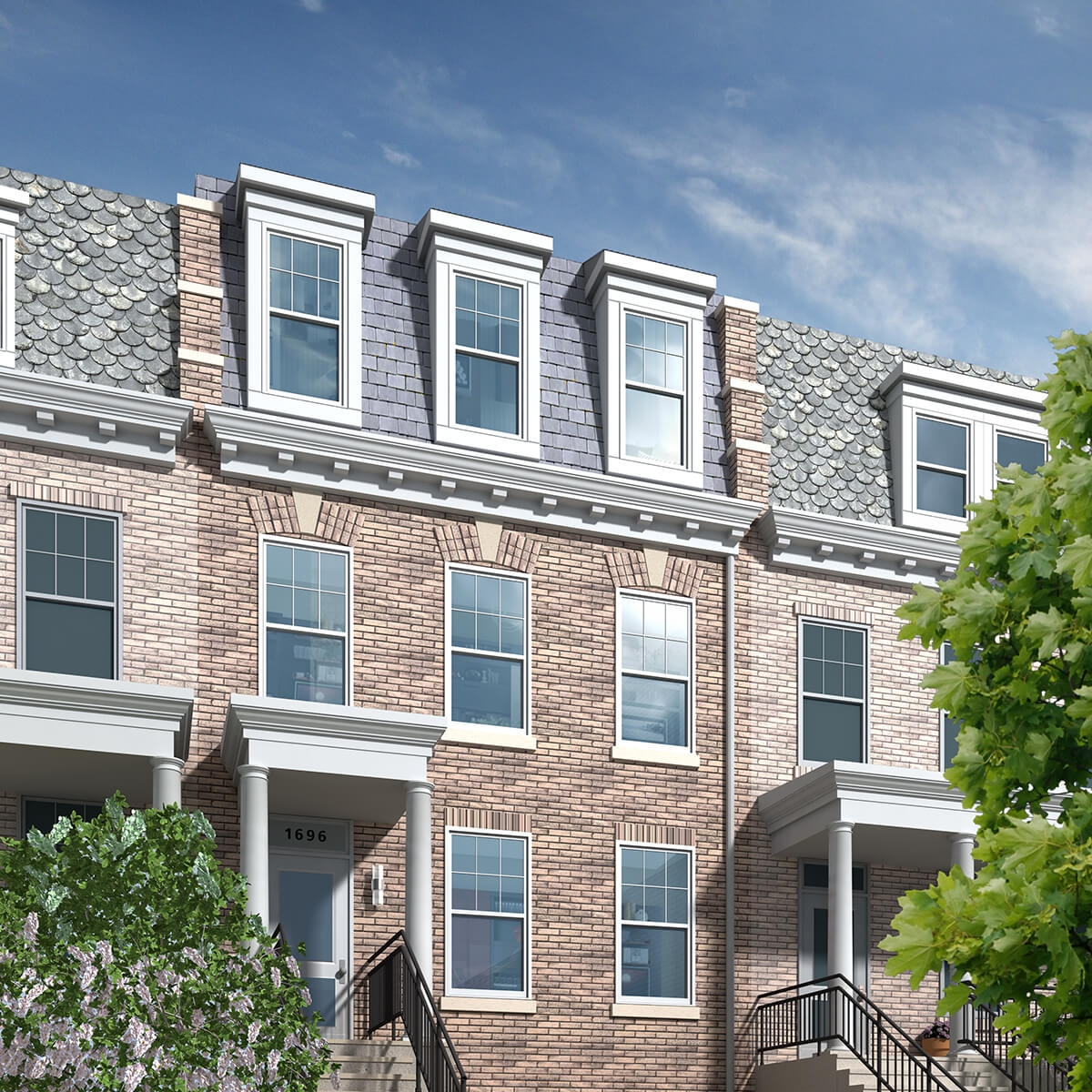 1696 Lanier Place NW - 4 Units - SOLD 2014