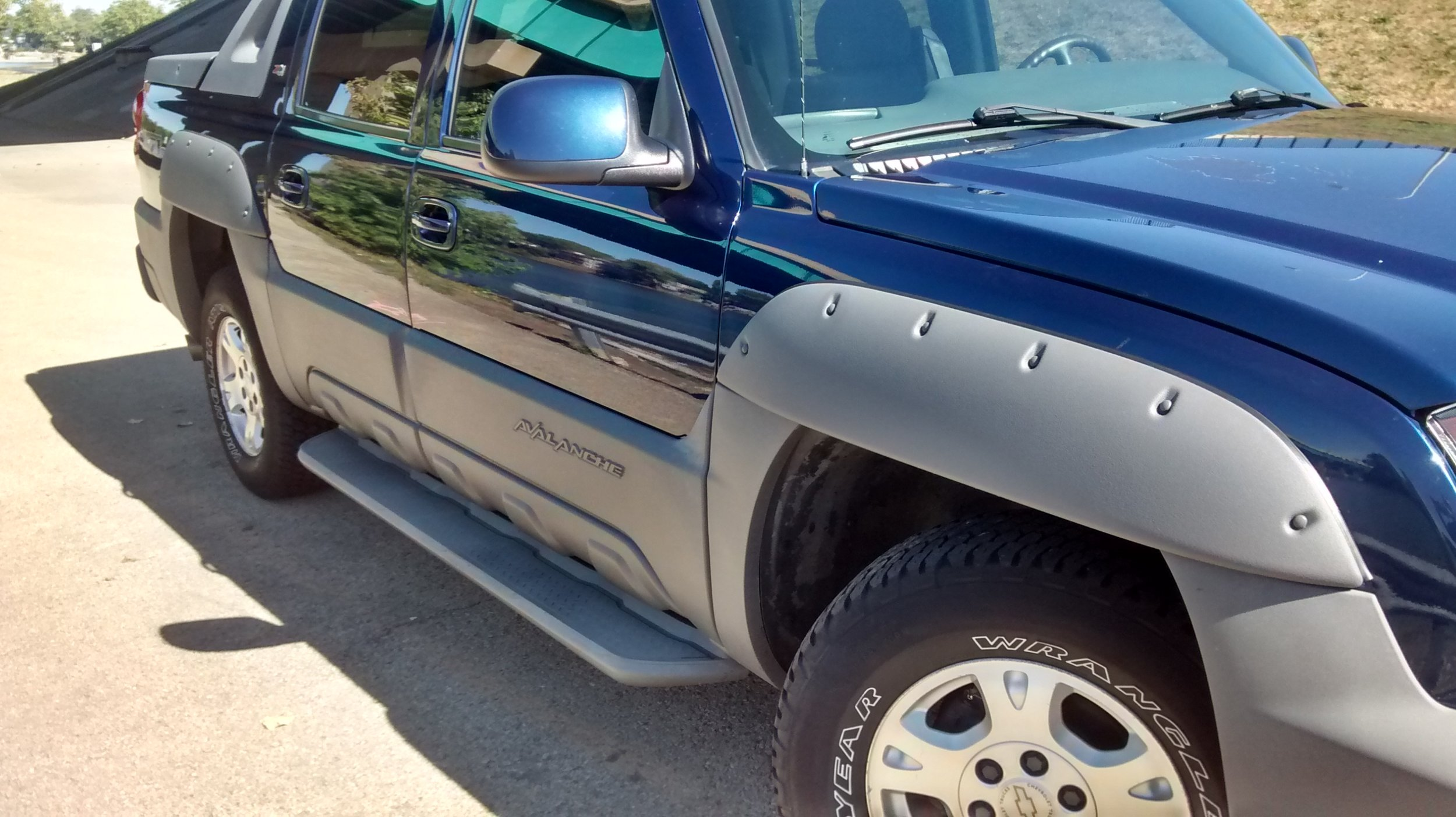 Cladded Avalanche Fender Flare