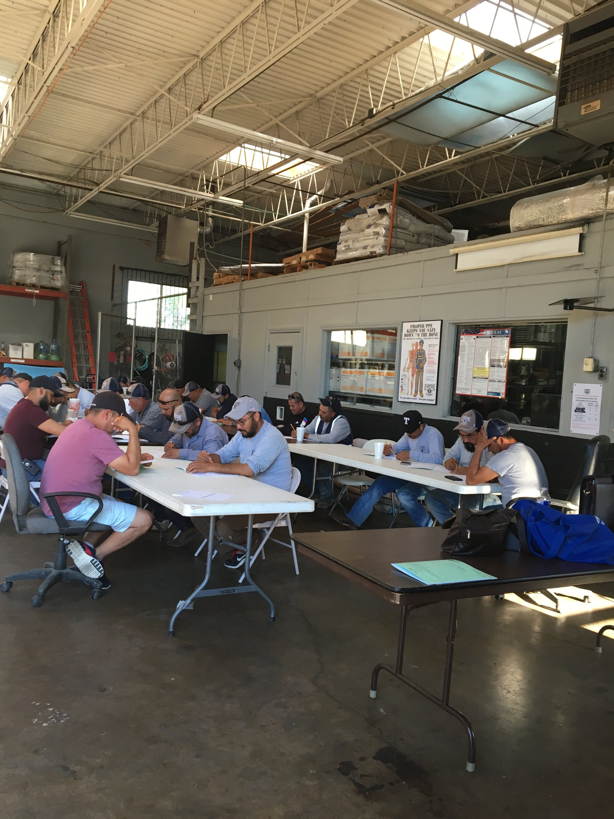 Fort Worth Office - Safety Training