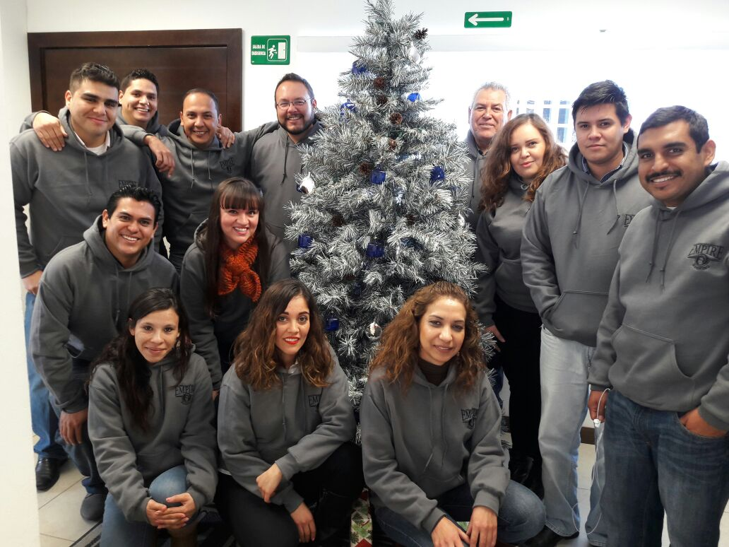 Empire Roofing Mexico - Christmas Celebration