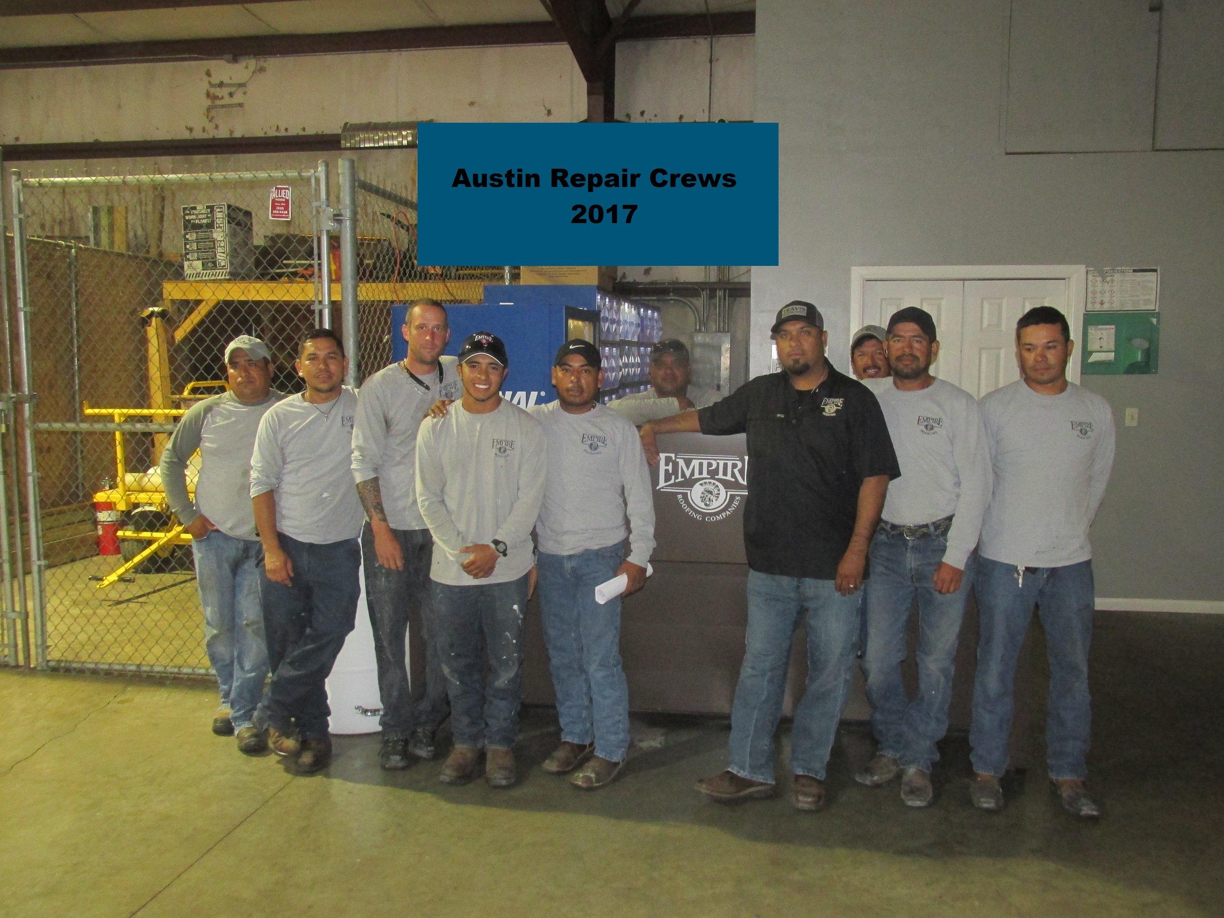 Austin Repair Crews 2017