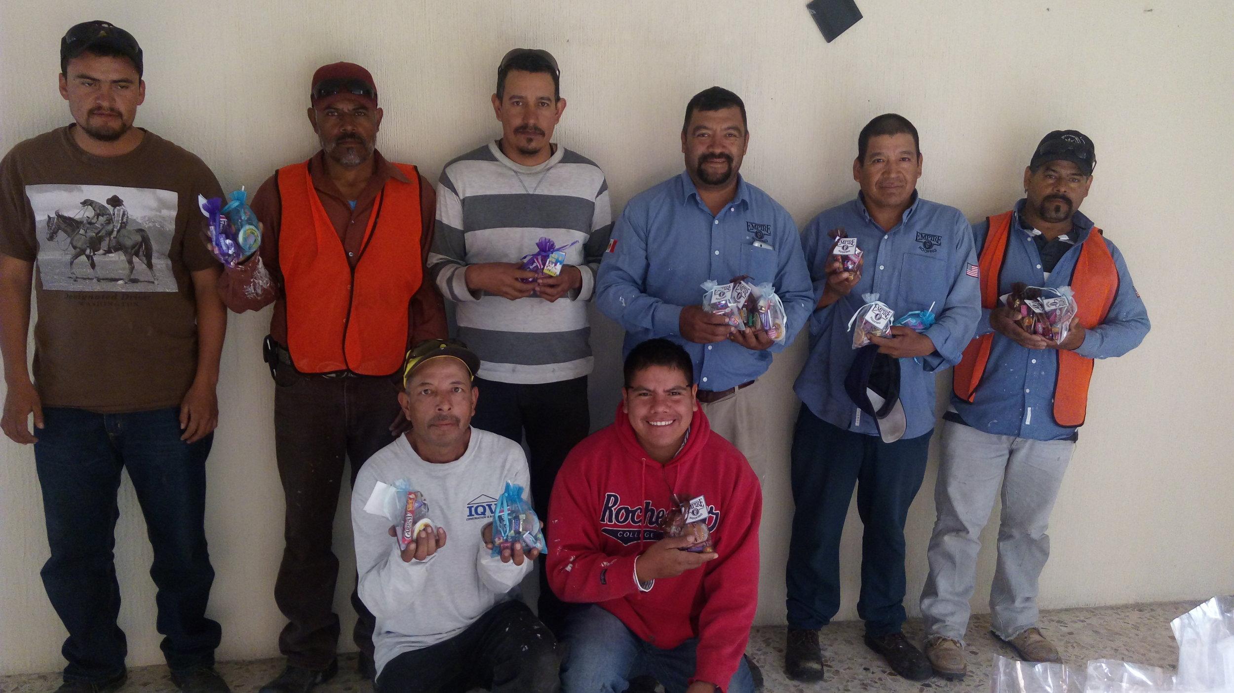 Empire Roofing Mexico, Volunteering