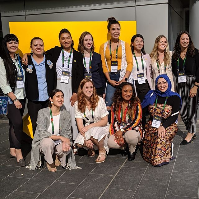 So inspiring to be among such amazing young leaders! 🇨🇦 #WD2019 #ThePowerOfUs