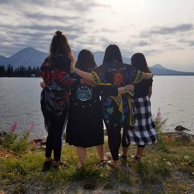 We are thankful to have spent this past weekend on the beautiful homelands of the Taku River Tlingit to facilitate a blanket ceremony for the annual Atlin Arts and Music Festival. It felt good to be back again this year!  Gunałcheesh to everyone who came out to participate we were truly overwhelmed with gratitude, love and blown away by your willingness to be present and engage with us. Also very special thanks to Wayne Carlick for ending the ceremony in a good way through song. It was incredibly powerful moment and we hold our hands up to you.  Big Gunałcheesh to Atlin Arts & Music Festival and VP Vincent Esquiro for taking care of us and always making us feel so welcomed on your territory. We love seeing how you put your heart into this festival every year and strive to make it culturally inclusive.  We hope to see you again next year Atlin! 💕🙏⛺️