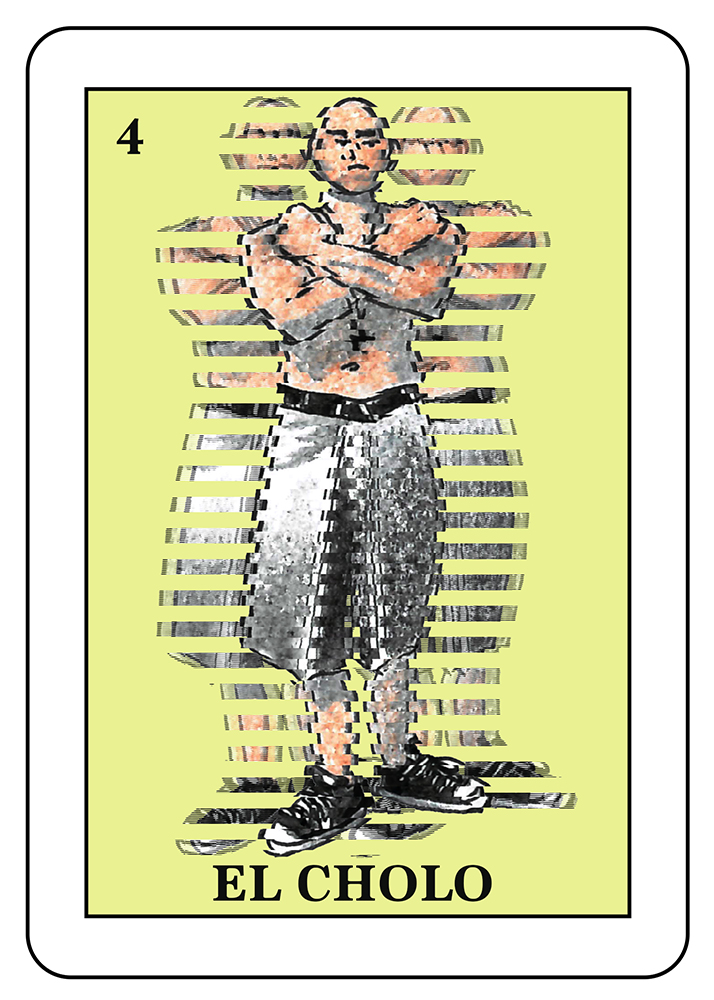 El Cholo: A term originated in Los Angeles that can be derogatory,meaning a teenage boy who is a member of a street gang.