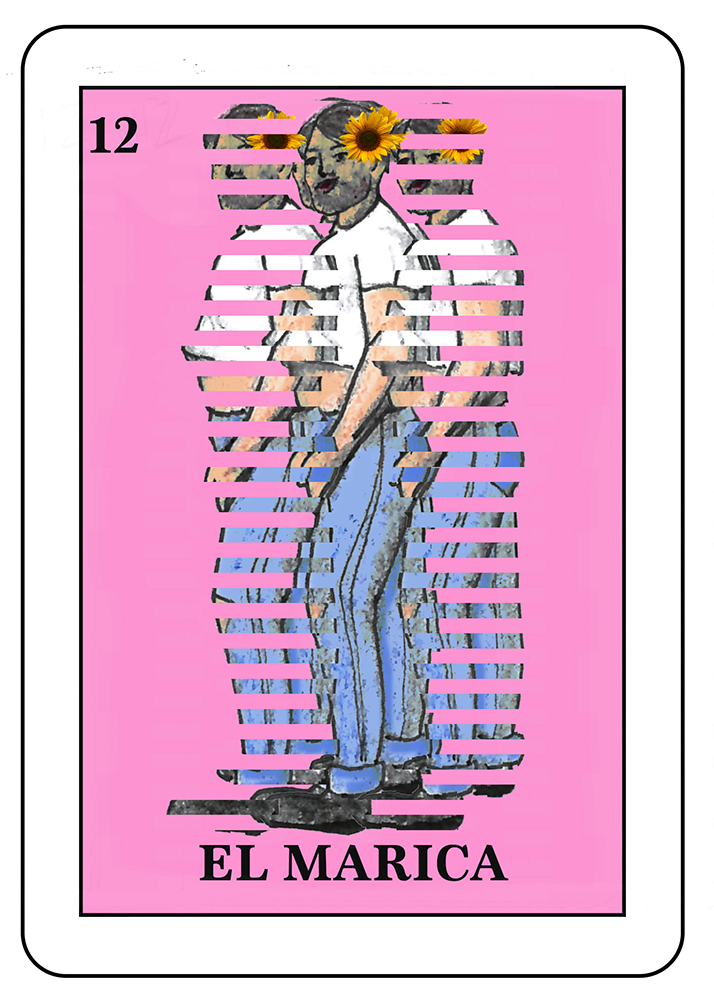 El Marica : An insulting term used to discriminate against a gay man.