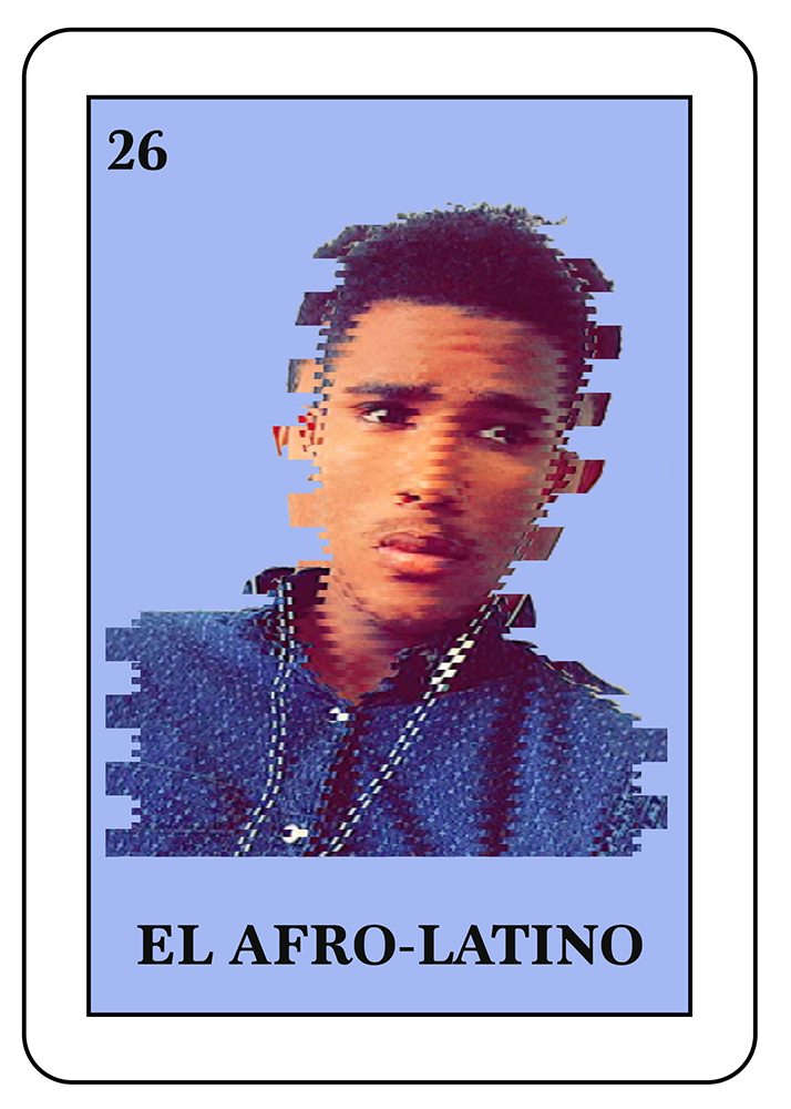 El Afro-Latino: A person of African descent that has ties to Latin America.