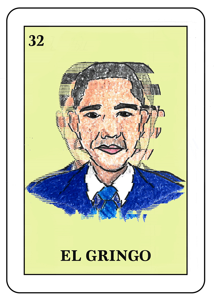 El Gringo: A term used in Latin America to refer to US citizen.