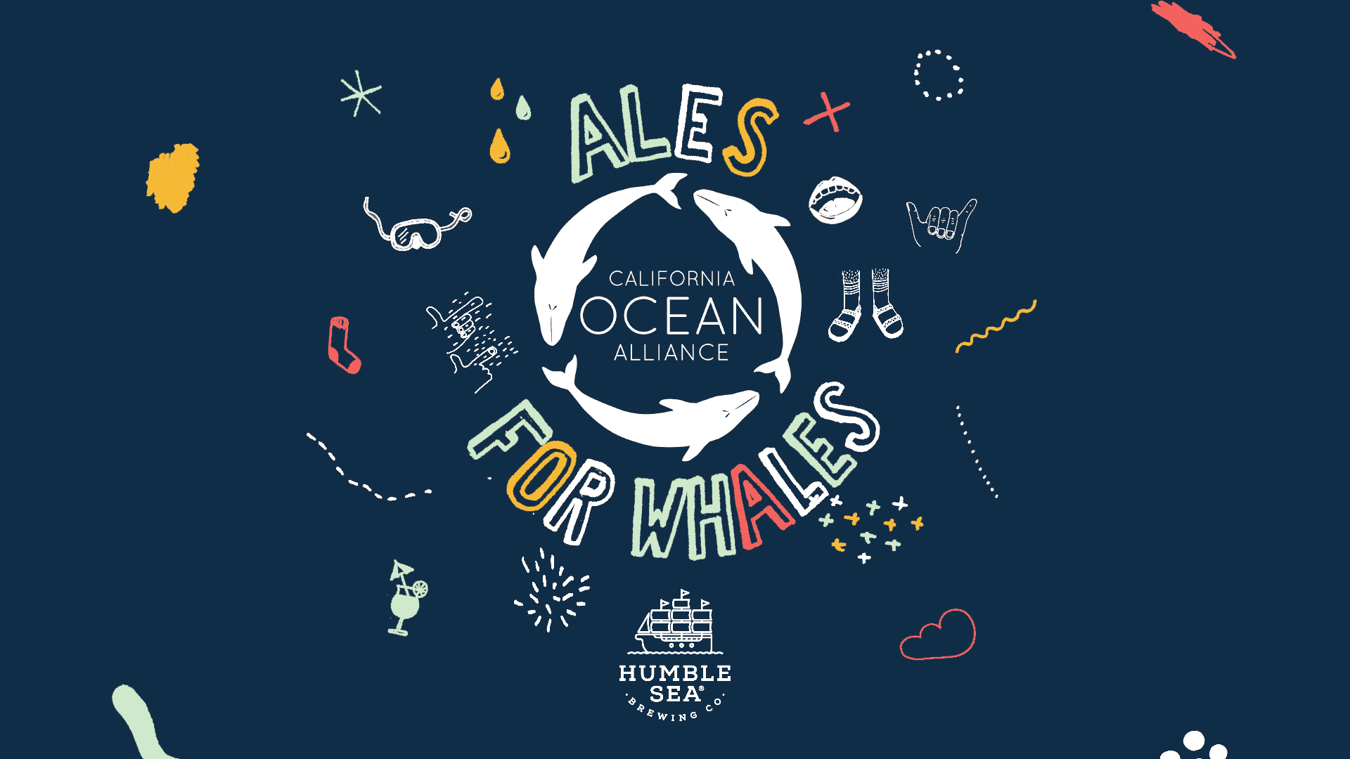 Ales for Whales a Huge Success! - Our fundraiser to support marine mammal education was went off without a hitch! Click here to see photos and learn more about the event!