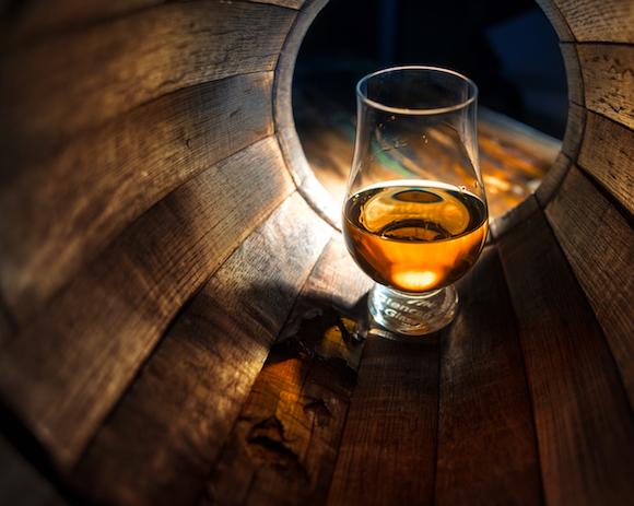 Le verre à whisky Glencairn, créé en 2001.
