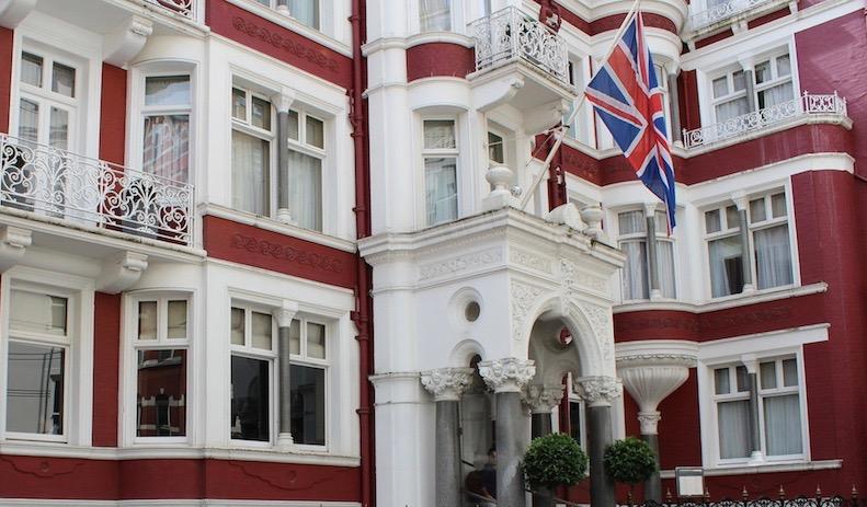 Le St.James's Hotel & Club à Londres, affilié au Club Saint-James de Montréal.