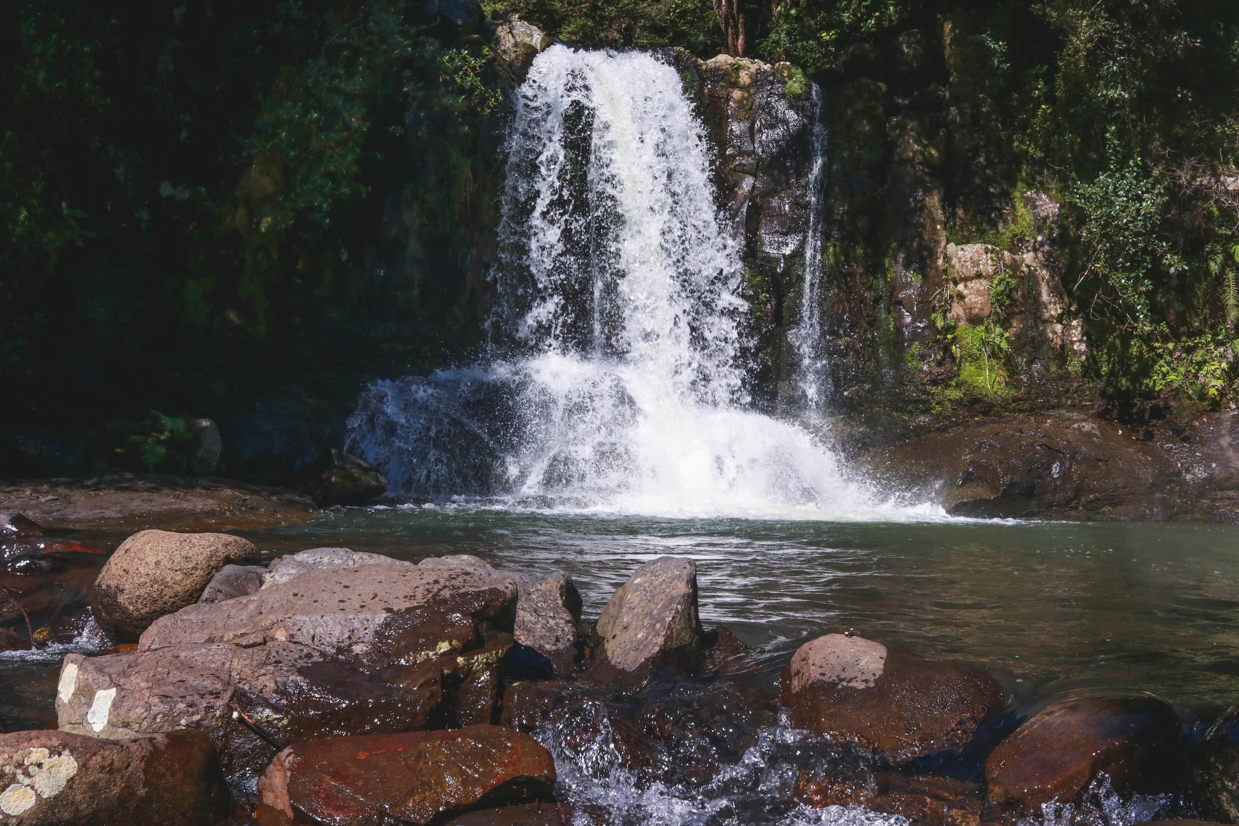Waiau Falls, the 309 Road