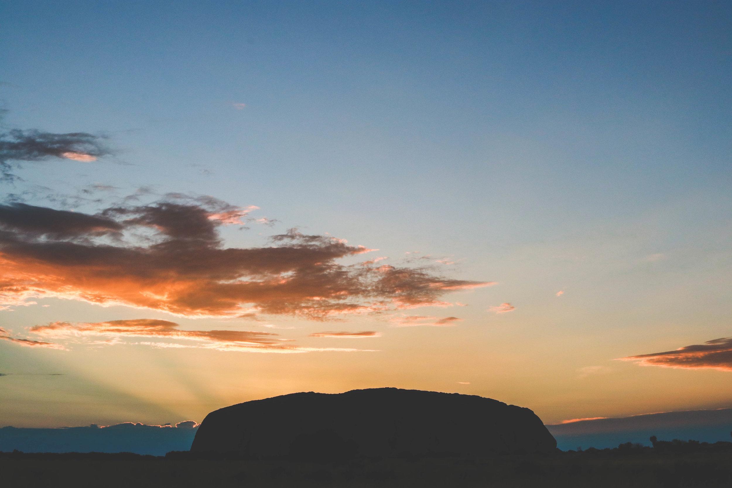 Uluru - (Ayer's Rock)