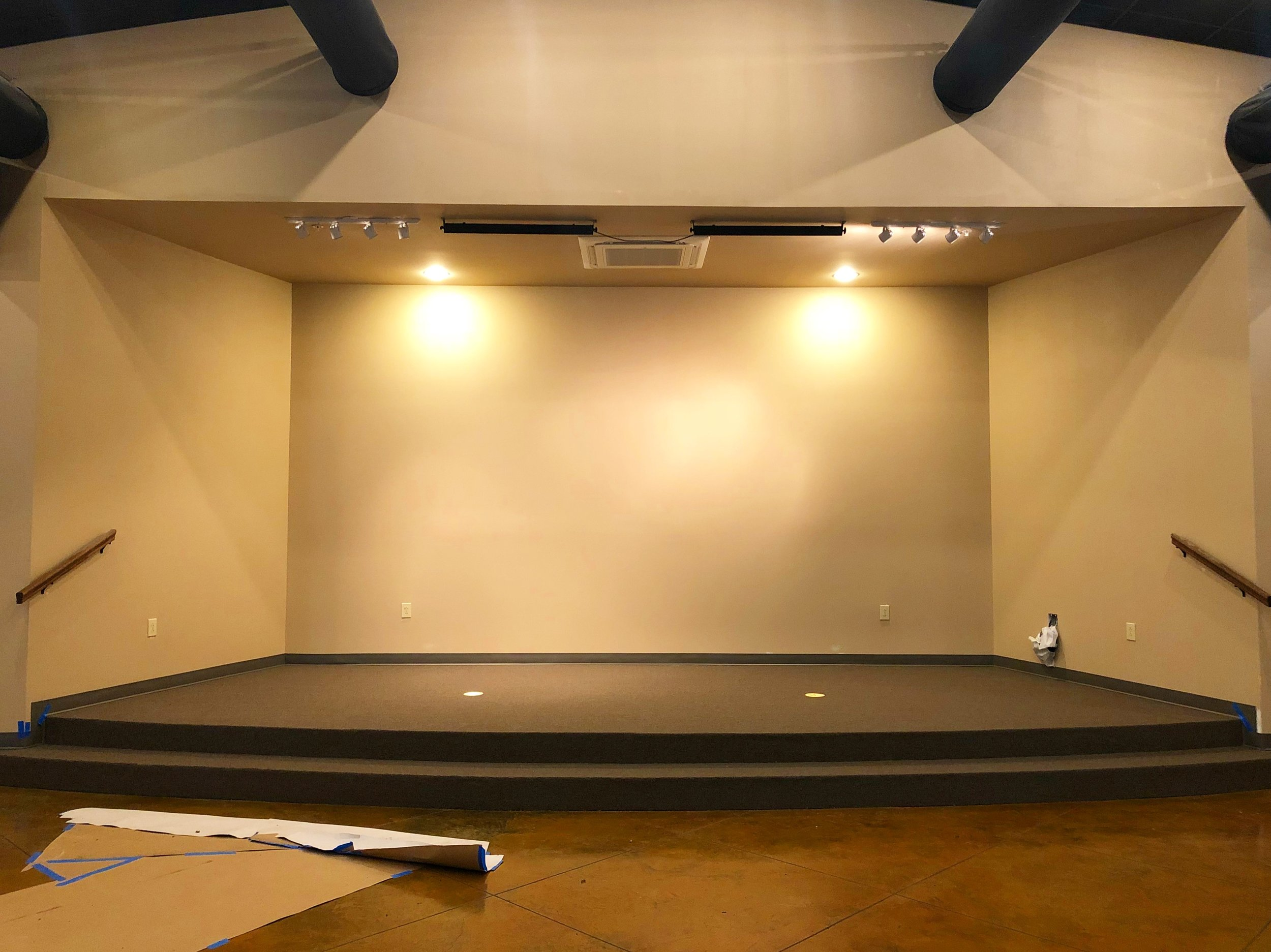 Stage in Worship Added Completed May 2018