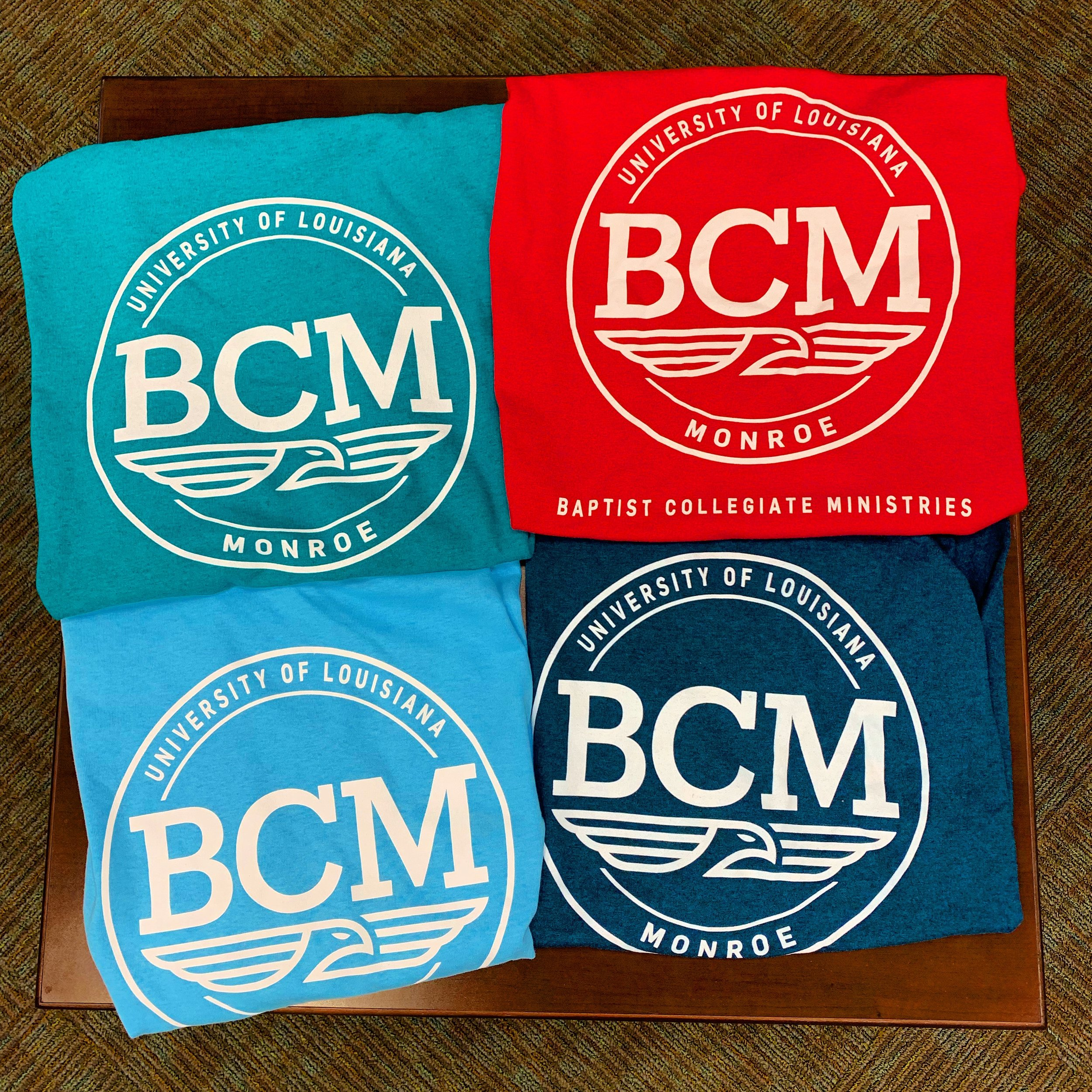 Want a FREE T-Shirt??? - The first 50 new Warhawks at each Prep session who complete this info form can pick up a FREE BCM T-Shirt. Shirts are available at free BCM Lunch on Thursday during Prep from 11:30am-12:30pm. ULM BCM is located at 1005 University Avenue across from Ouachita Residence Hall.