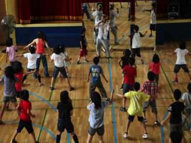 DAA dance class