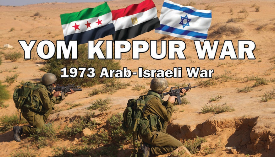 Yom Kippur War - 1973 Arab-Israeli War  -