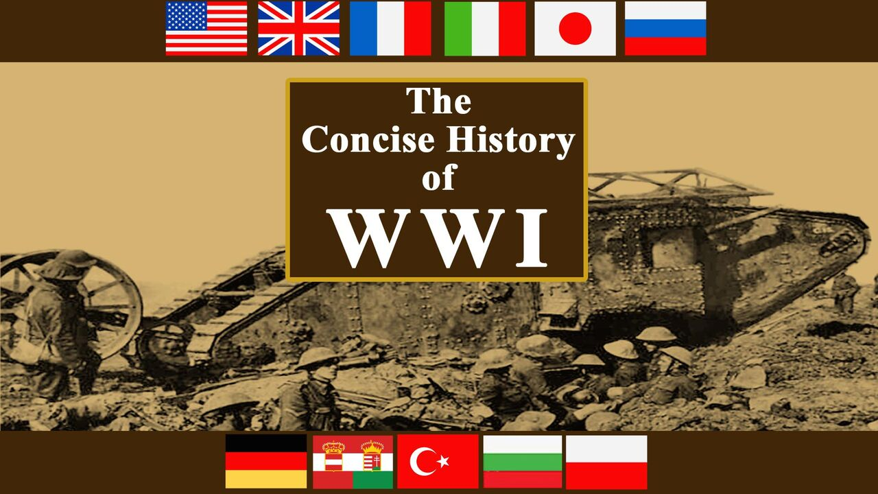 The Concise History of WWI  -