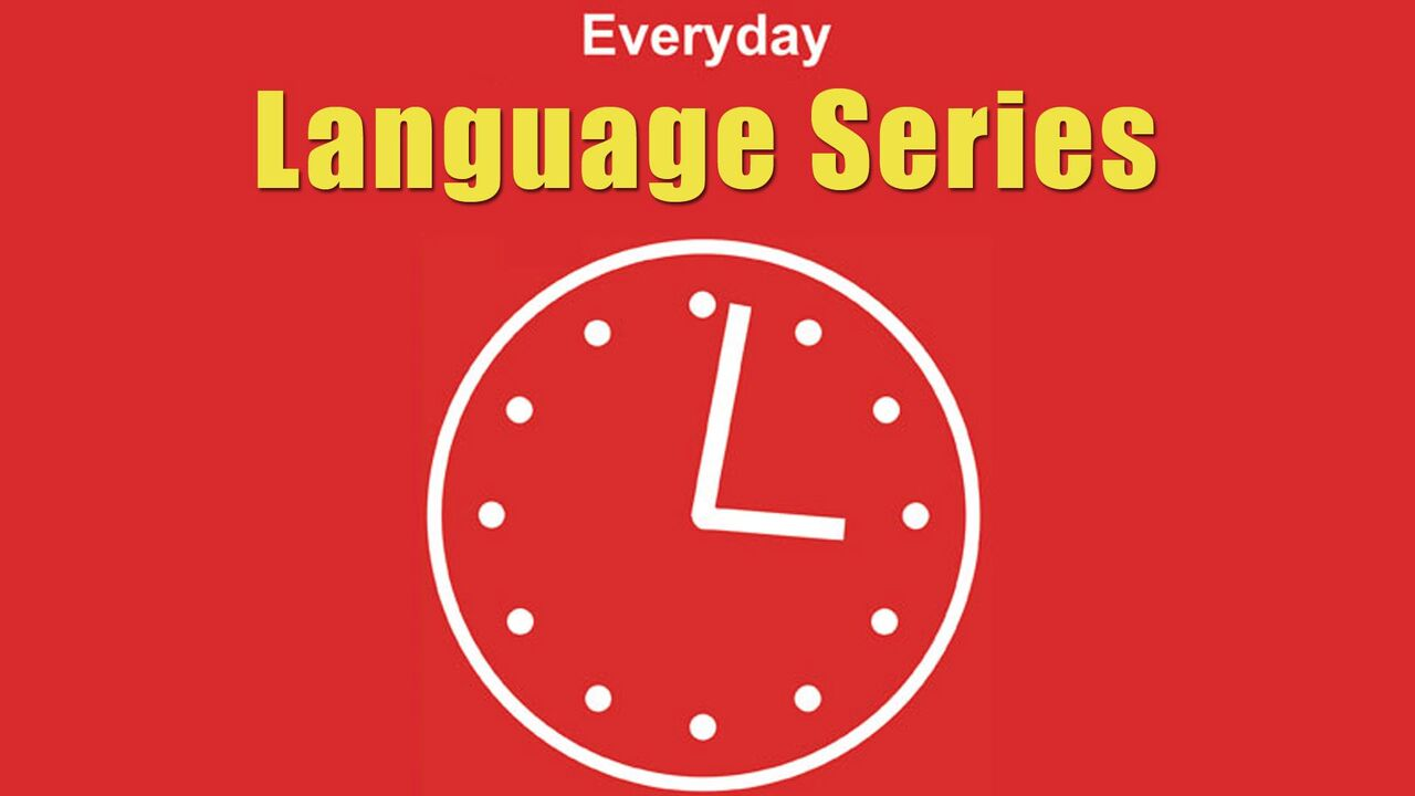 Everyday Language -