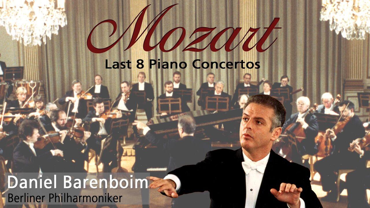 Barenboim and the Berliner Philharmoniker - Mozart Piano Concerto 20-27 -