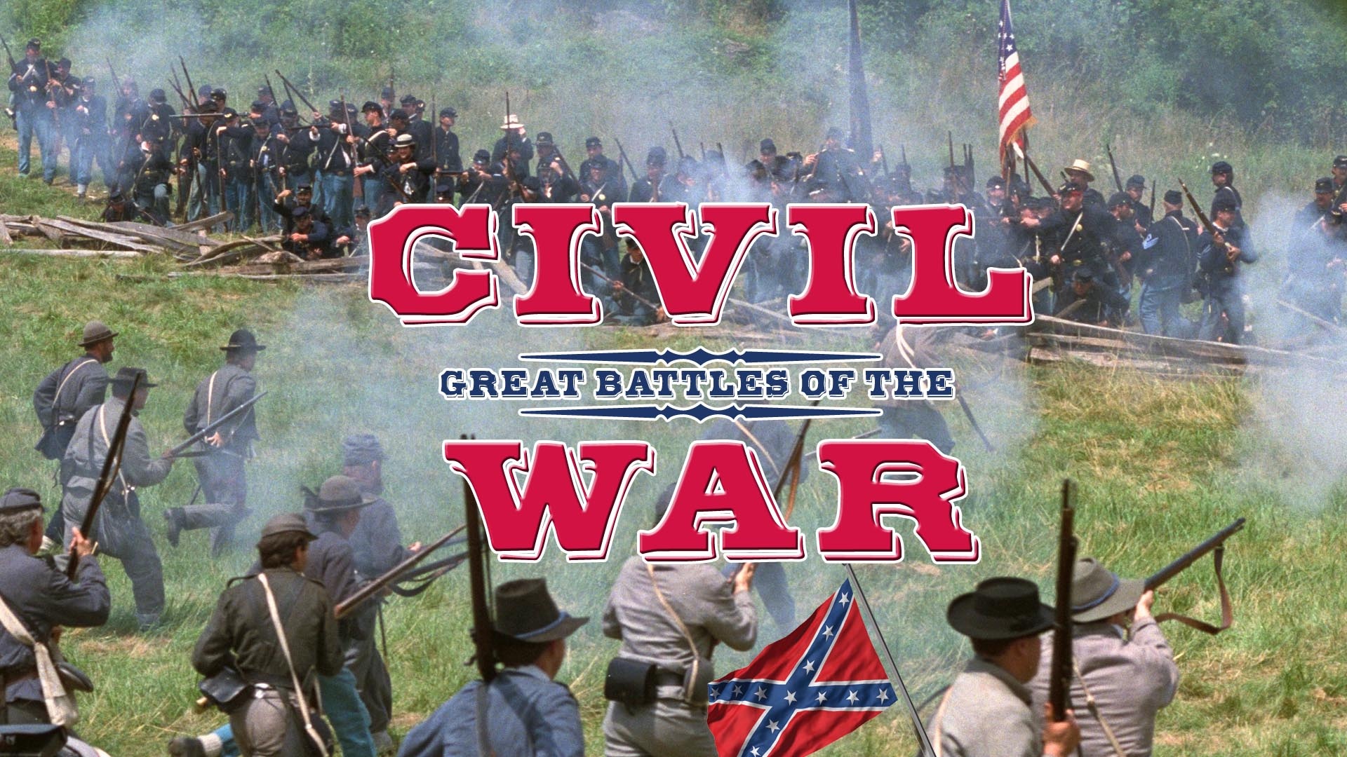 The Great Battles of the Civil War Collection -