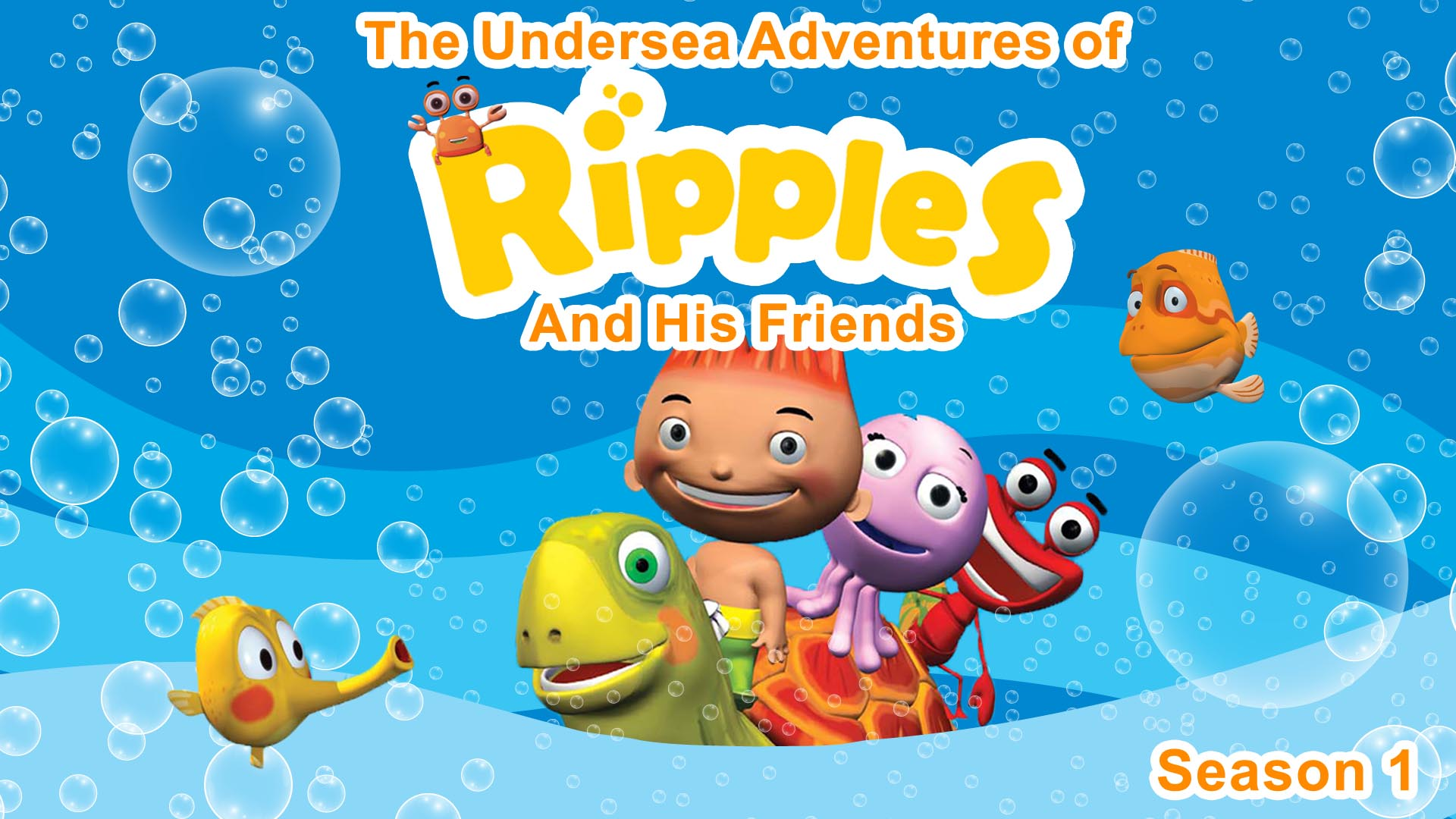 The Undersea Adventures of Ripples And His Friends -