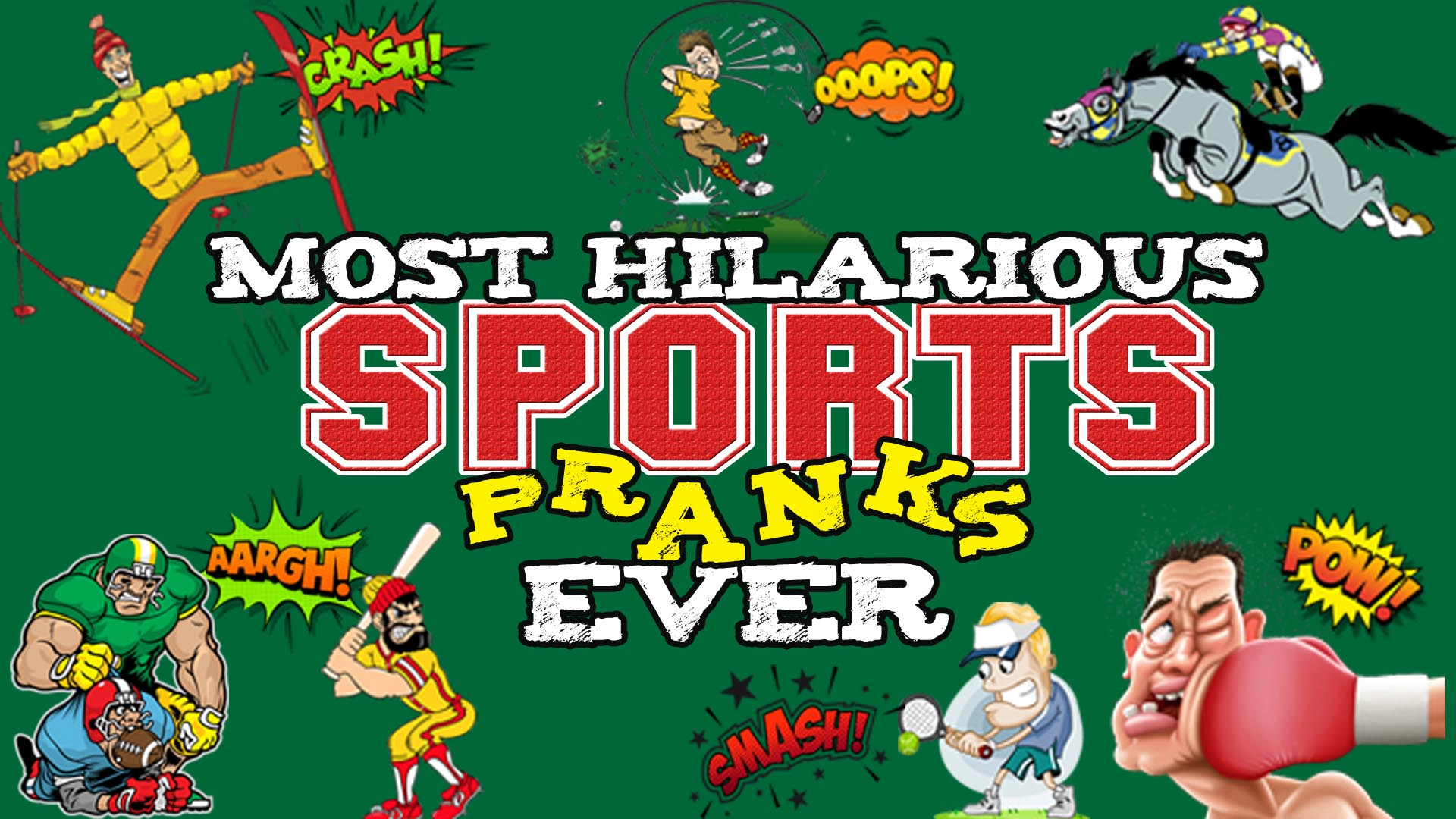 Most Hilarious Sports Pranks Ever -