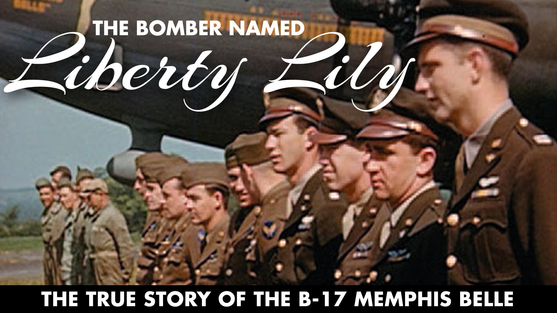 The Bomber Named Liberty Lily -