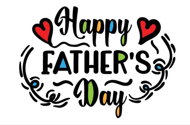 Happy Father's Day to all the hard working dads out there! Enjoy your day and thank you for every thing you do for us!