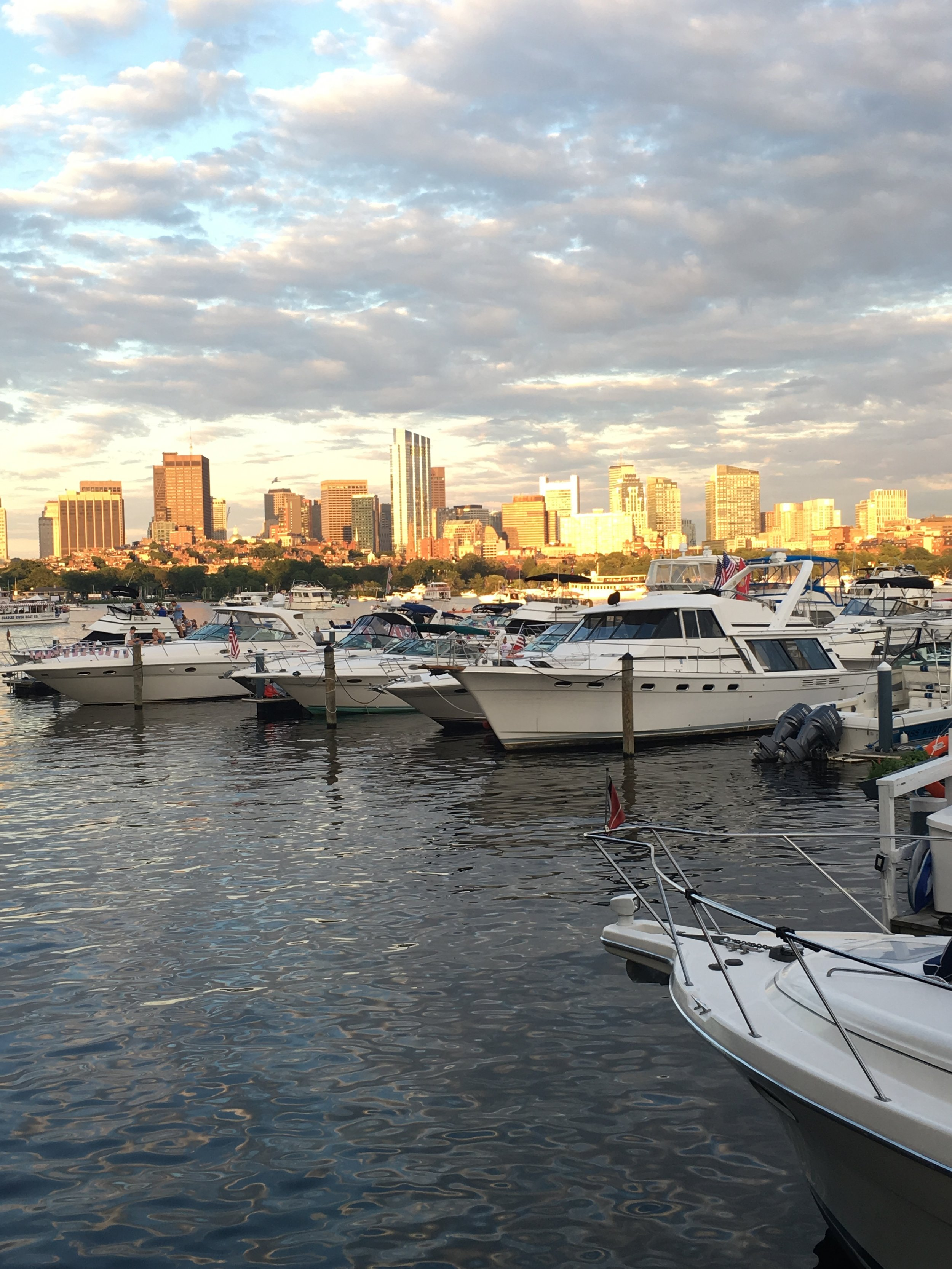 Spending the fourth in the place that started the Revolution, on the banks of the Charles River, Boston, MA