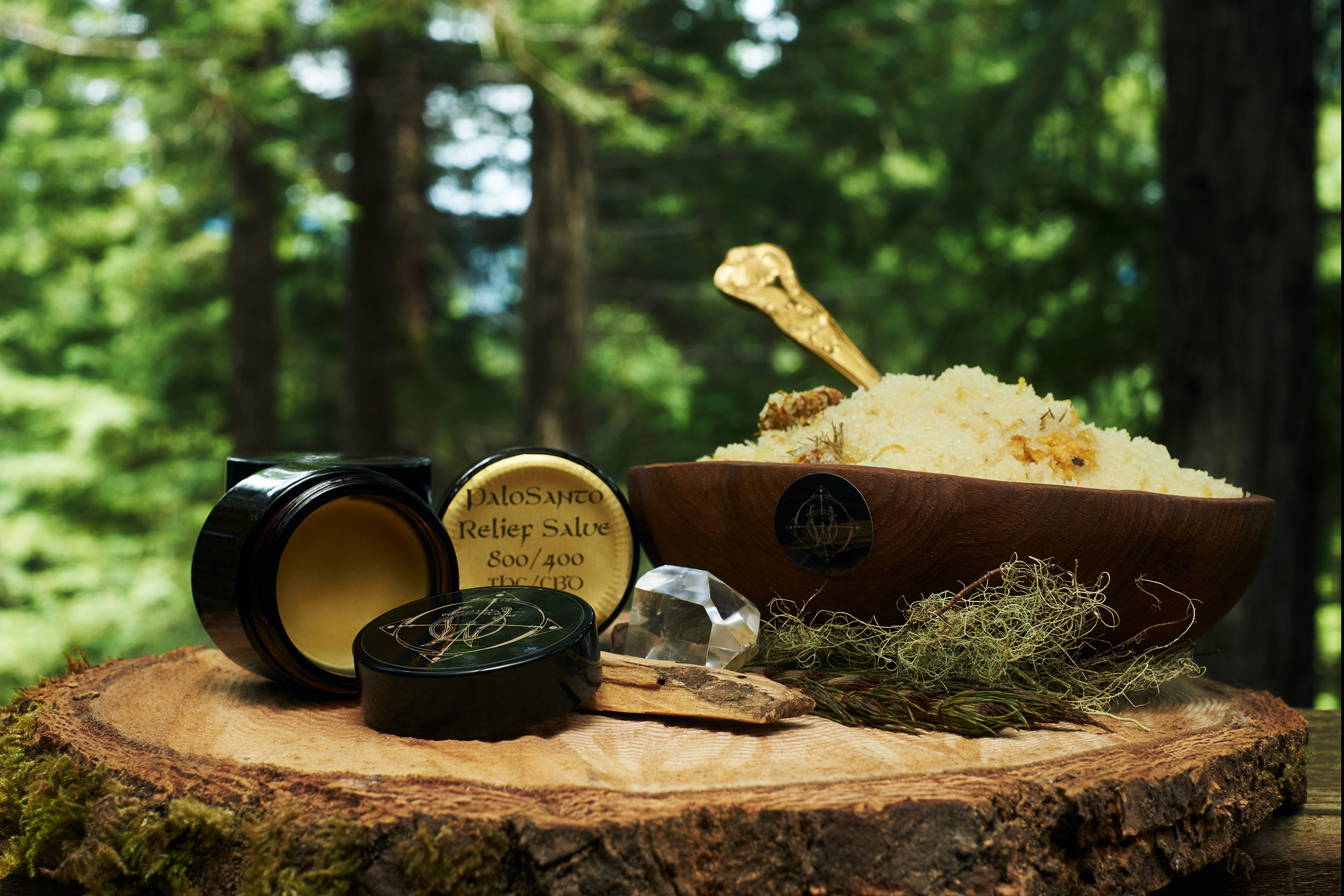 Salve & Soak - The cannabis plant offers so many healthy relationships with the body. By offering a multitude of avenues to benefit from, WyldeHeart's holistic vision is achieved. Our topical salve and bath soak are 100% organic, with the essence of medicinal herbs. Whether you had a long day, or suffer from chronic aches and pains, our topical's are the answer.