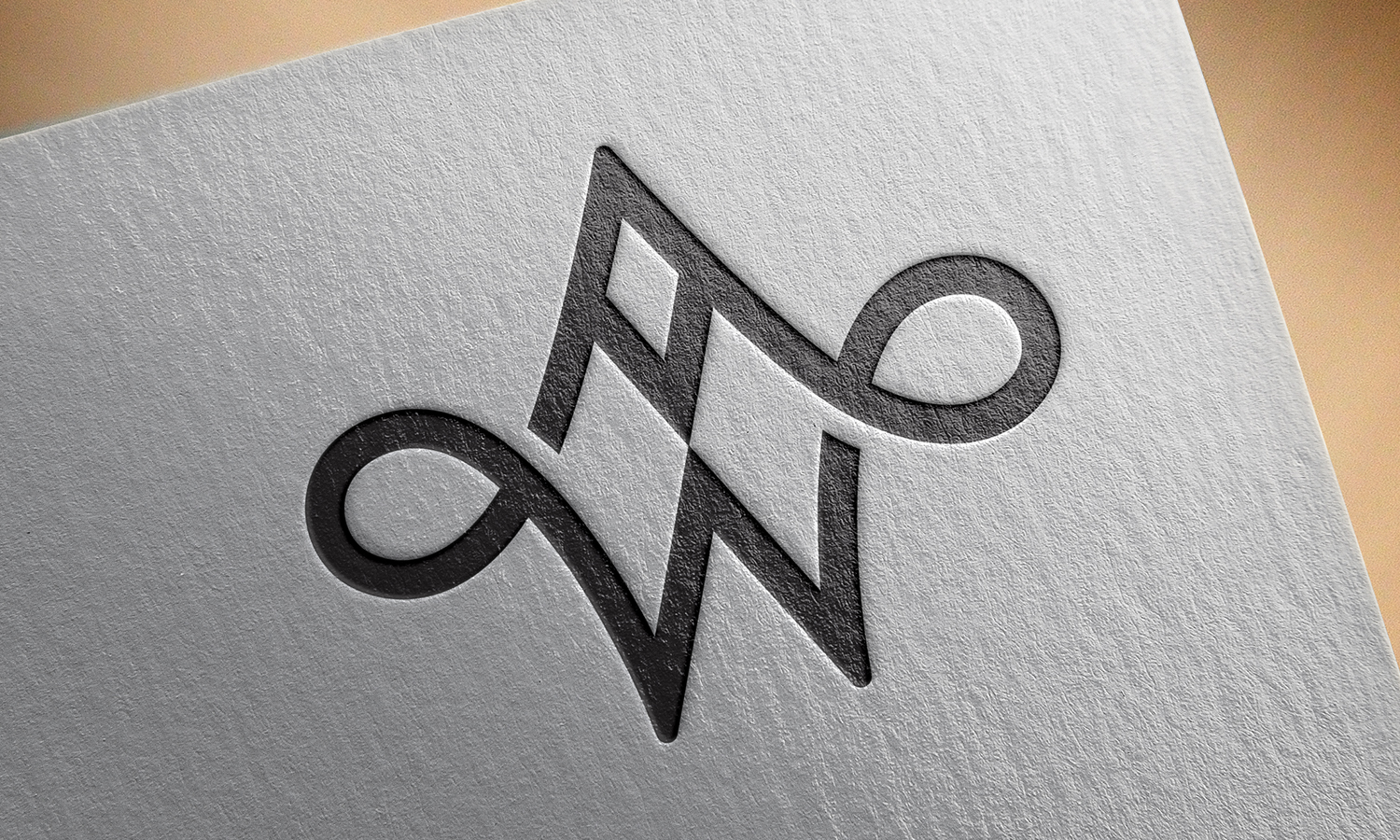 Commissioned AW Monogram